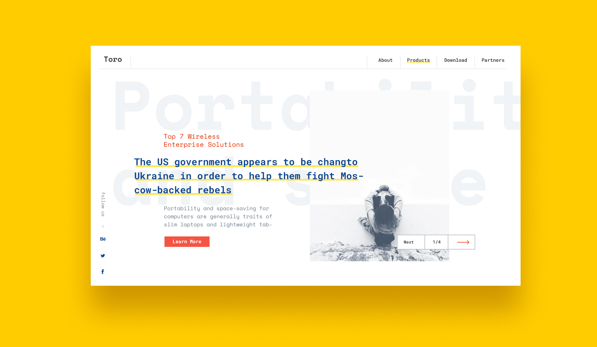 templates and layouts toro web concept freebies for designers and