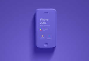 Changeable Color iPhone mockup