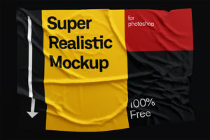 Wrinkles mockup, free mockup, fabric mockup, cloth mockup, flag mockup, download, freebie, mock-up, dress mockup, shirt mockup, psd mockup, photoshop mockup, download